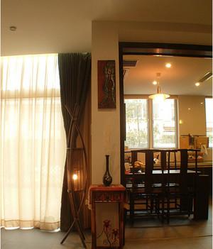 2015大户型中式客厅装修效果图