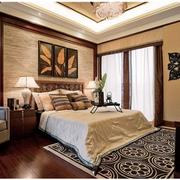 经典东南亚别墅卧室装修