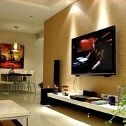 时尚液体壁纸电视背景墙装修