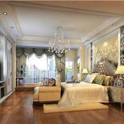 时尚欧式别墅卧室装修设计