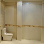 时尚卫生间瓷砖设计