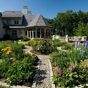 精致乡村别墅入户花园设计