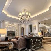 精装大户型客厅设计