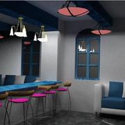 精致地中海风格酒吧设计