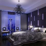 靓丽地中海别墅卧室装修设计