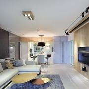 现代简约都市单身公寓潮流客厅