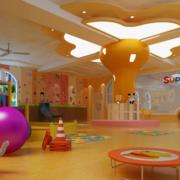 靓丽幼儿园装修设计