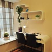 都市欧式小书房书桌装修