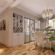 都市欧式客厅酒柜设计