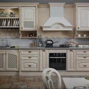 复古欧式厨房欧派橱柜设计