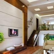 经典跃层式住宅楼梯装修设计