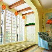 朴实地中海阳台设计