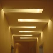 靓丽酒店走廊吊顶设计