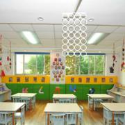 简约幼儿园墙饰装修设计
