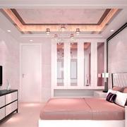 唯美小卧室墙衣装修效果图