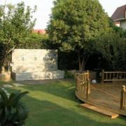 精致中式别墅庭院绿化设计