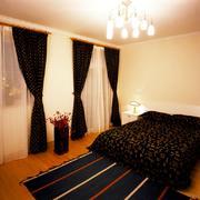 浪漫欧式三居主卧装潢设计