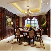 复古欧式别墅酒柜设计