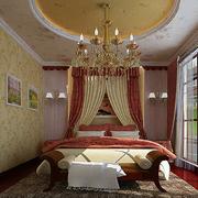 高档地中海别墅卧室装修设计