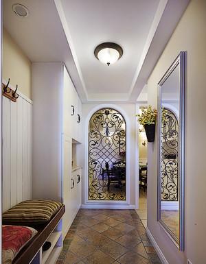90平米大户型都市客厅走廊吊顶装修效果图