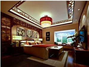 新中式古典餐厅酒柜装修效果图 齐装网装修效果图