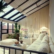 自然单身公寓卧室装设计