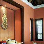 时尚三居东南亚客厅装修设计