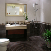 高档卫生间瓷砖设计