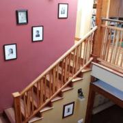 简约楼梯照片墙装修
