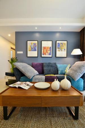 温馨客厅背景墙装修设计