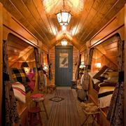 斜顶阁楼单身公寓卧室装设计