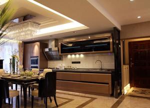 华美欧式开放式厨房装修