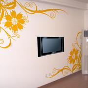 精致体壁纸电视背景墙装修