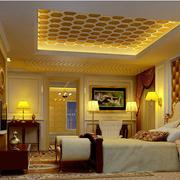 精致欧式别墅卧室装修设计