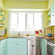 自然厨房橱柜装修设计