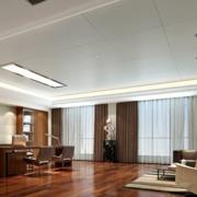 高档办公室吊顶造型设计