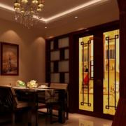 复古中餐厅酒柜