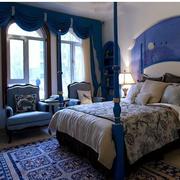 精致地中海别墅卧室装修设计