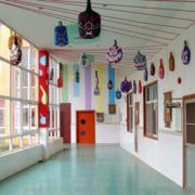 大气幼儿园墙绘设计装修