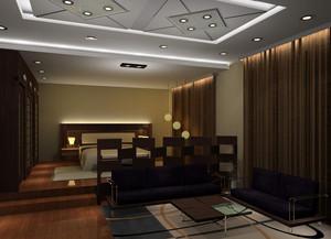 2015欧式三居主卧装潢设计效果图