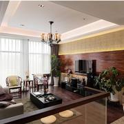 温馨大户型客厅设计