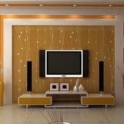 精装欧式客厅电视墙装修
