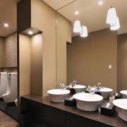 简约酒店公厕设计