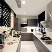 古典中式厨房橱柜装修设计