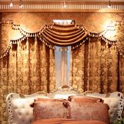 靓丽欧式奢华别墅窗帘设计
