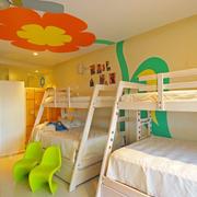 田园儿童卧室装修设计