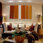简约洋房客厅装修设计