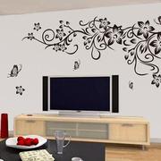 素雅液体壁纸电视背景墙装修