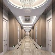 高档三居欧式走廊吊顶设计