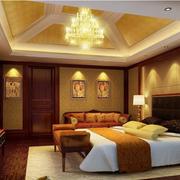 经典欧式别墅卧室装修设计